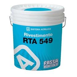 Revestimento Acrílico Fassa RTA 549 25Kg Branco